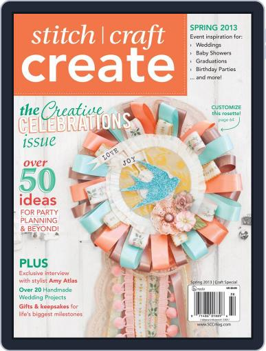 Stitch Craft Create March 15th, 2013 Digital Back Issue Cover