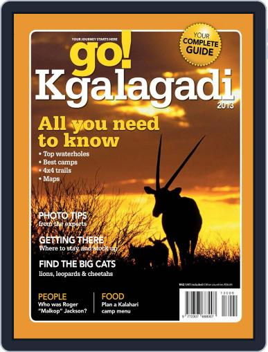 Go! Kgalagadi June 18th, 2013 Digital Back Issue Cover