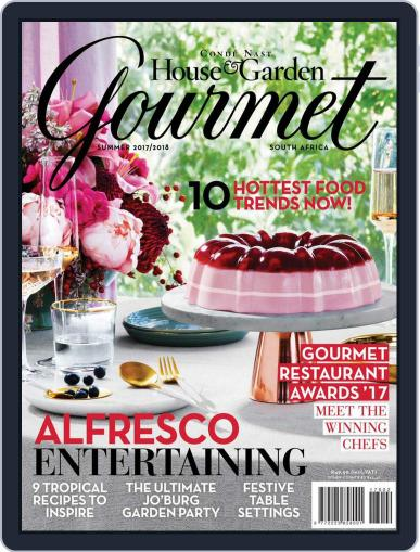 House & Garden Gourmet South Africa November 1st, 2017 Digital Back Issue Cover