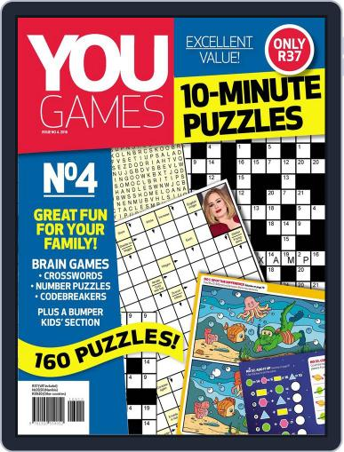 You Play - 10 Minute Puzzles May 1st, 2016 Digital Back Issue Cover