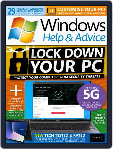 Windows Help & Advice May 1st, 2020 Digital Back Issue Cover