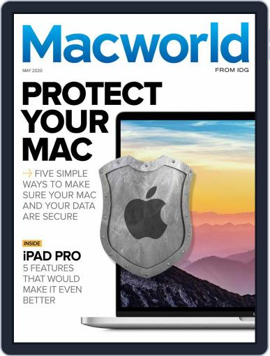 Macworld Australia May 1st, 2020 Digital Back Issue Cover