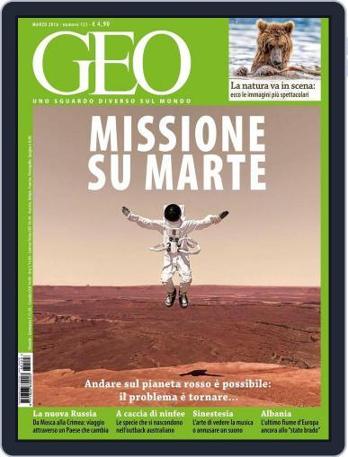 Geo Italia February 23rd, 2016 Digital Back Issue Cover