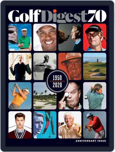 Golf Digest July 1st, 2020 Digital Back Issue Cover