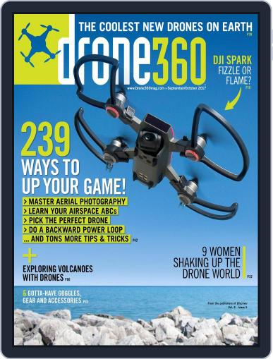 Drone 360 October 1st, 2017 Digital Back Issue Cover