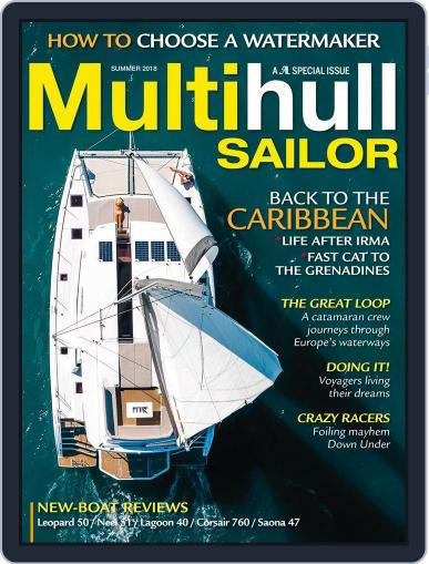 Multihull Sailor April 17th, 2018 Digital Back Issue Cover