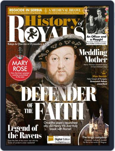 History Of Royals October 1st, 2017 Digital Back Issue Cover