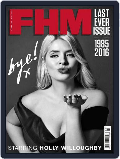 Fhm January 7th, 2016 Digital Back Issue Cover