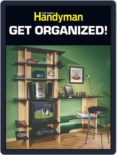 The Family Handyman Get Organized! December 6th, 2012 Digital Back Issue Cover