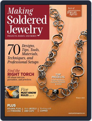 How To Solder Jewelry November 3rd, 2014 Digital Back Issue Cover