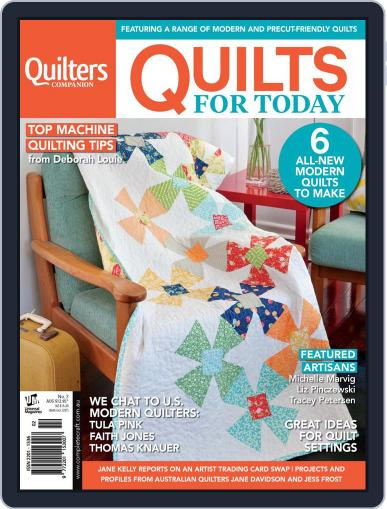Quilts For Today June 24th, 2014 Digital Back Issue Cover
