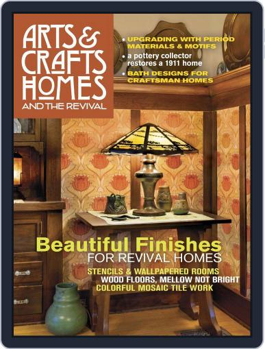 Arts & Crafts Homes September 26th, 2017 Digital Back Issue Cover
