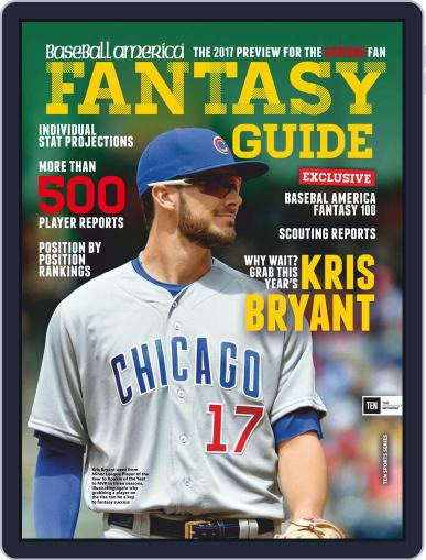 Baseball America: Fantasy Baseball January 1st, 2017 Digital Back Issue Cover