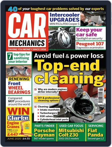 Car Mechanics June 1st, 2020 Digital Back Issue Cover
