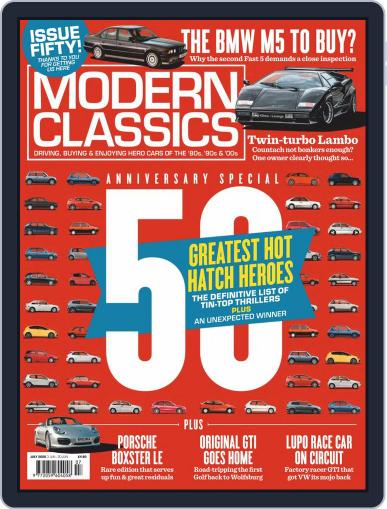 Modern Classics July 1st, 2020 Digital Back Issue Cover