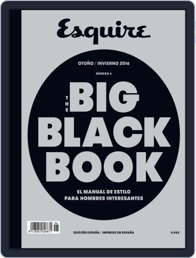 The Big Black Book-España December 1st, 2016 Digital Back Issue Cover