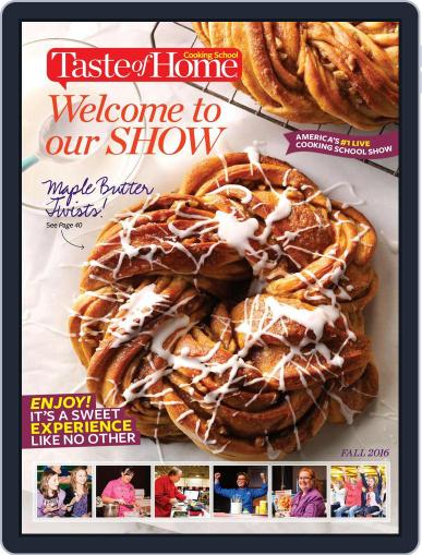 Taste Of Home Cooking School October 5th, 2016 Digital Back Issue Cover