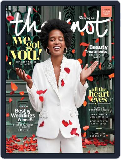 The Knot Michigan Weddings April 27th, 2020 Digital Back Issue Cover