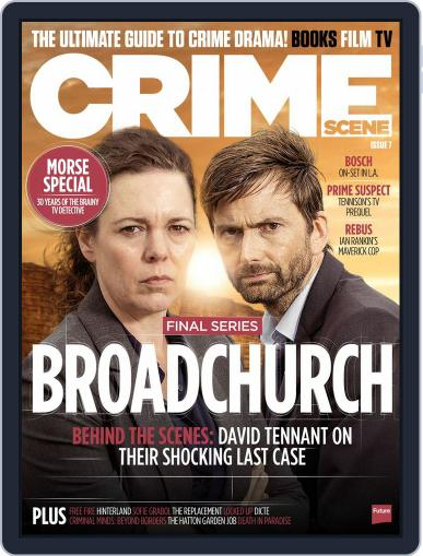 Crime Scene March 1st, 2017 Digital Back Issue Cover