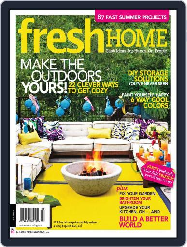 Fresh Home July 15th, 2011 Digital Back Issue Cover