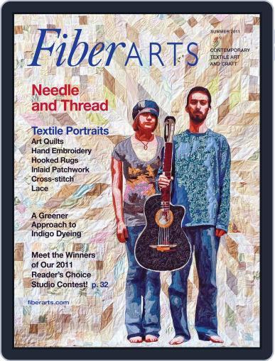 Fiber Arts June 8th, 2011 Digital Back Issue Cover