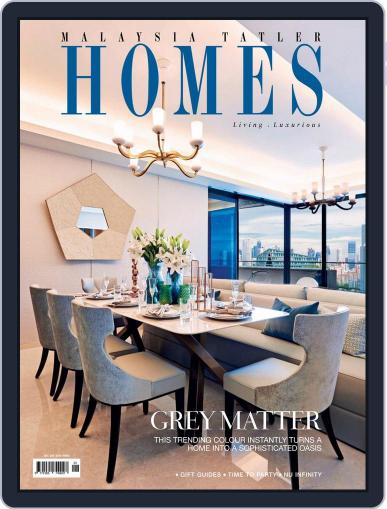 Malaysia Tatler Homes December 1st, 2017 Digital Back Issue Cover