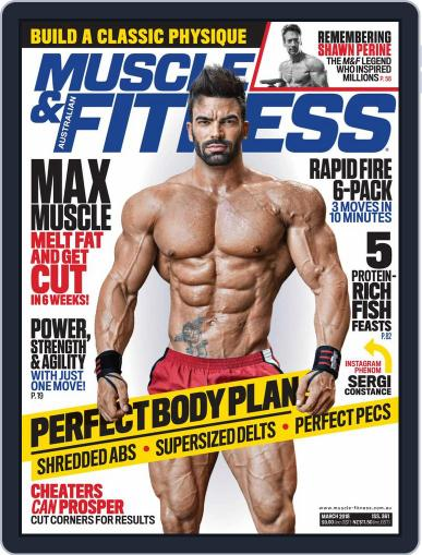 Muscle & Fitness Australia March 1st, 2018 Digital Back Issue Cover