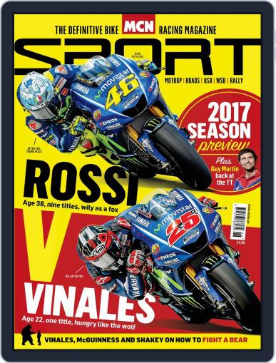 MCN Sport January 1st, 2017 Digital Back Issue Cover