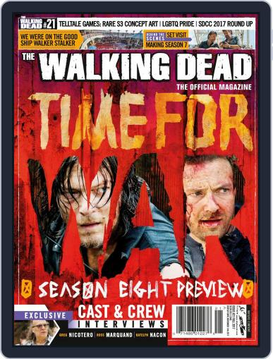 The Walking Dead October 1st, 2017 Digital Back Issue Cover