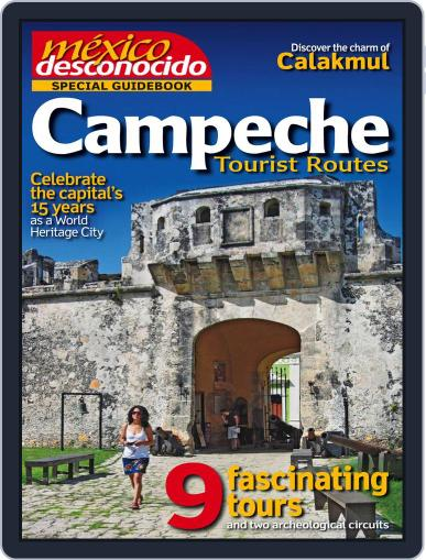 Guidebook Mexico Desconocido October 20th, 2014 Digital Back Issue Cover