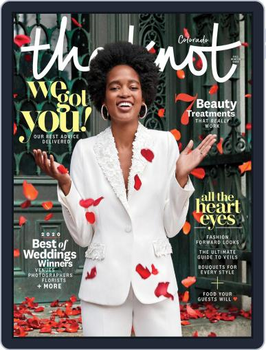 The Knot Colorado Weddings April 27th, 2020 Digital Back Issue Cover