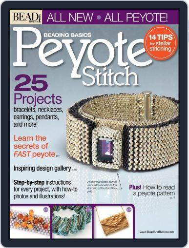 Peyote Stitch May 30th, 2012 Digital Back Issue Cover