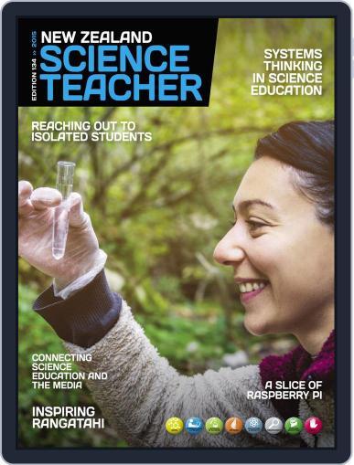 New Zealand Science Teacher December 3rd, 2015 Digital Back Issue Cover