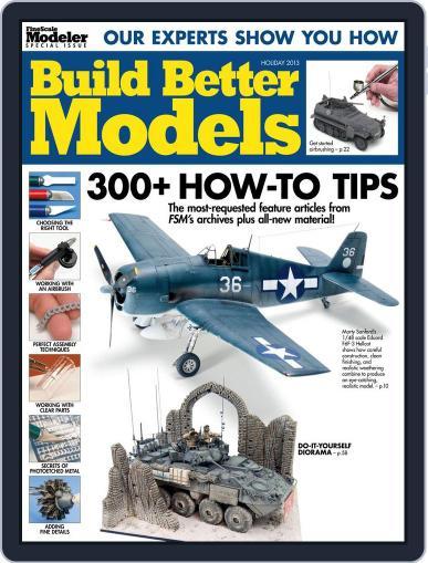 Build Better Models November 11th, 2013 Digital Back Issue Cover