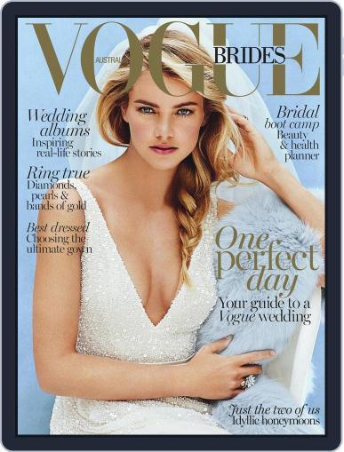 Vogue Australia Brides June 7th, 2015 Digital Back Issue Cover
