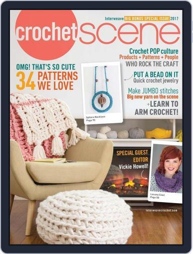 Crochetscene January 1st, 2017 Digital Back Issue Cover