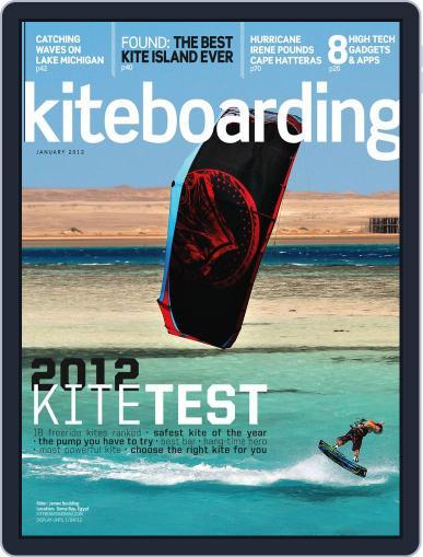 Kiteboarding January 1st, 2012 Digital Back Issue Cover