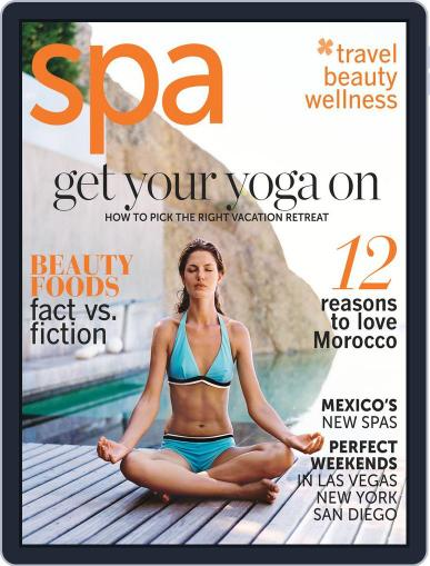 Spa March 3rd, 2012 Digital Back Issue Cover