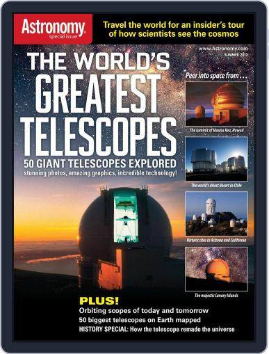 The World's Greatest Telescopes April 5th, 2012 Digital Back Issue Cover