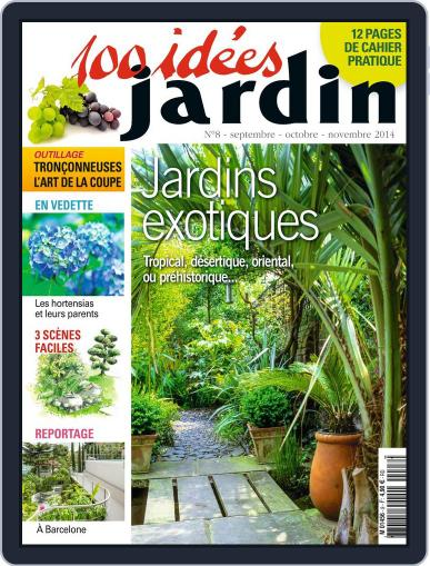 100 idées jardin August 27th, 2014 Digital Back Issue Cover