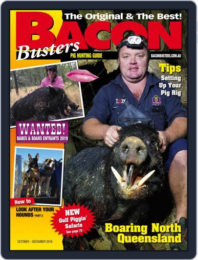 Bacon Busters October 1st, 2018 Digital Back Issue Cover