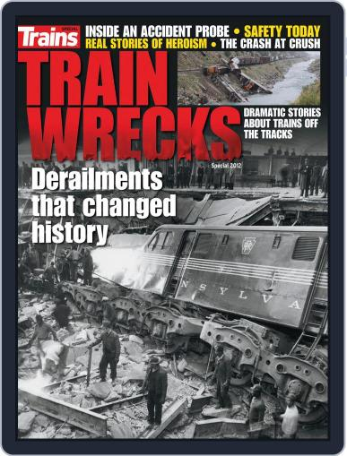 Train Wrecks March 26th, 2012 Digital Back Issue Cover