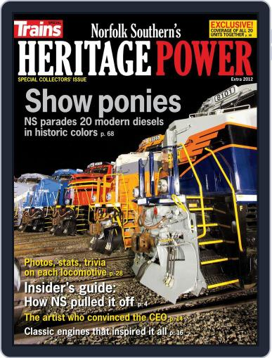 Heritage Power July 25th, 2012 Digital Back Issue Cover