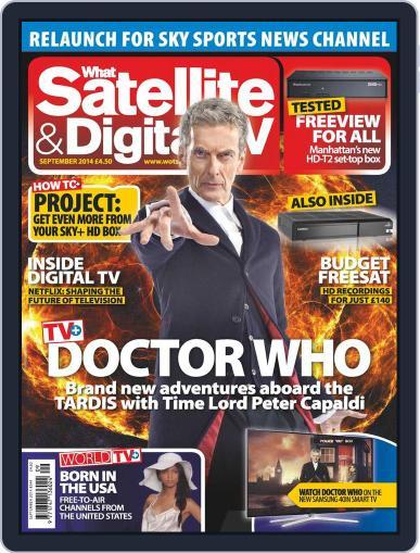 What Satellite & Digital Tv September 1st, 2014 Digital Back Issue Cover