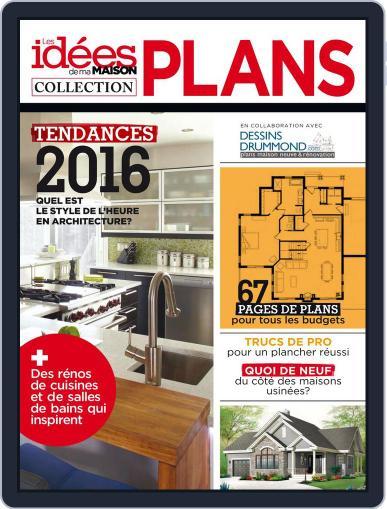 Les idées de ma maison - Collection plans September 24th, 2015 Digital Back Issue Cover