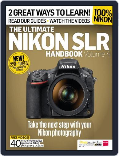 Ultimate Nikon SLR Handbook November 30th, 2015 Digital Back Issue Cover