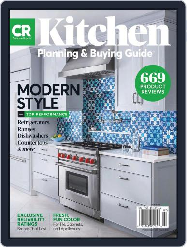 Consumer Reports Kitchen Planning and Buying Guide July 1st, 2020 Digital Back Issue Cover
