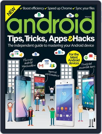 Android Tips, Tricks, Apps & Hacks November 11th, 2015 Digital Back Issue Cover