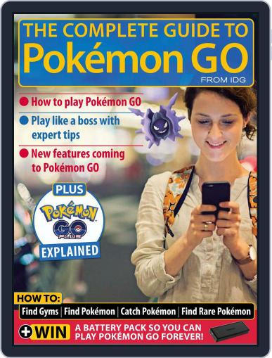 The Complete Guide to Pokémon Go July 1st, 2016 Digital Back Issue Cover