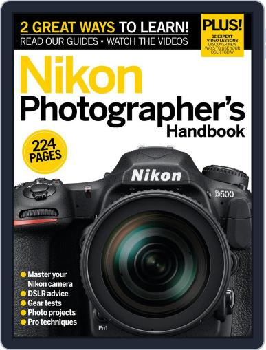 Master your Nikon D-SLR October 31st, 2016 Digital Back Issue Cover